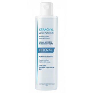 Ducray Keracnyl Loção Purificante 200ml, purifica, limpa, matifica a pele e fecha os poros