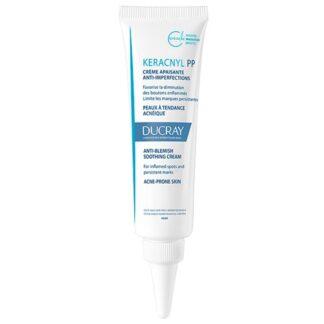 Ducray Keracnyl PP Creme Anti-Imperfeições 30ml, favorece a diminuição das borbulhas problemáticas e limita as marcas residuais