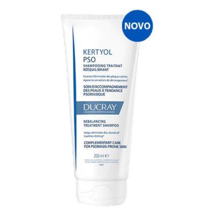 Ducray Kertyol P.S.O Champô 200ml, Cuidado complementar para a pele com tendência a psoríase