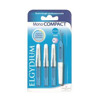 Elgydium Escovilhões Mono Compact Azul 1.9mm 4 Escovilhões