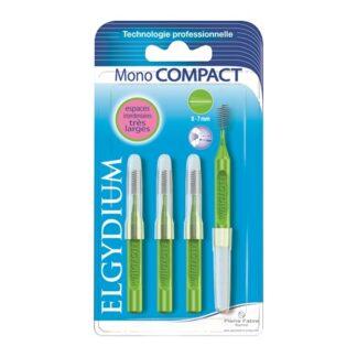 Elgydium Escovilhões Mono Compact Verde 4 un