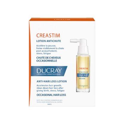 Ducray Creastim Loção Anti-Queda 2x30ml, queda de cabelo ocasional unisexo. Stress, fadiga. Pode ser usado durante a gravidez, amamentação e tratamento de cancro.