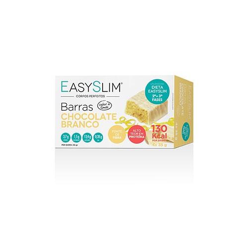 Easyslim Barras Proteicas Chocolate Branco 4 Unidades - Pharma Scalabis