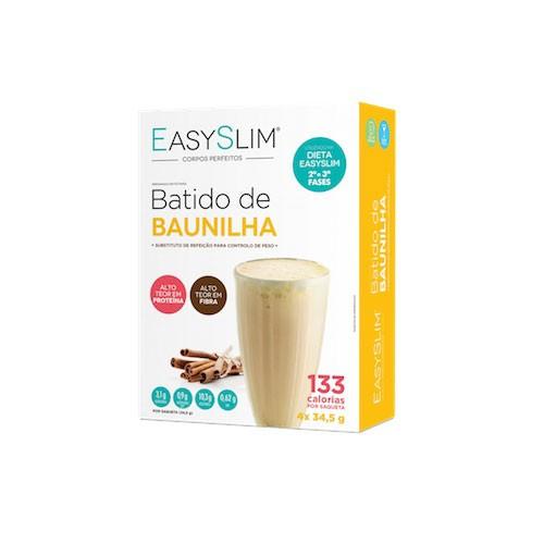 Easyslim Batido de Baunilha 4x34gr - Pharma Scalabis