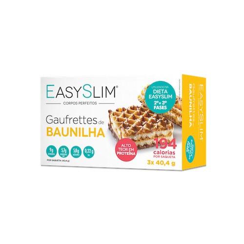 Easyslim Gaufrettes de Baunilha 3 Unidades - Pharma Scalabis