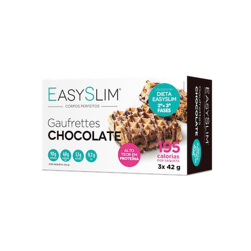 Easyslim Gaufrettes De Chocolate 3 Unidades - Pharma Scalabis