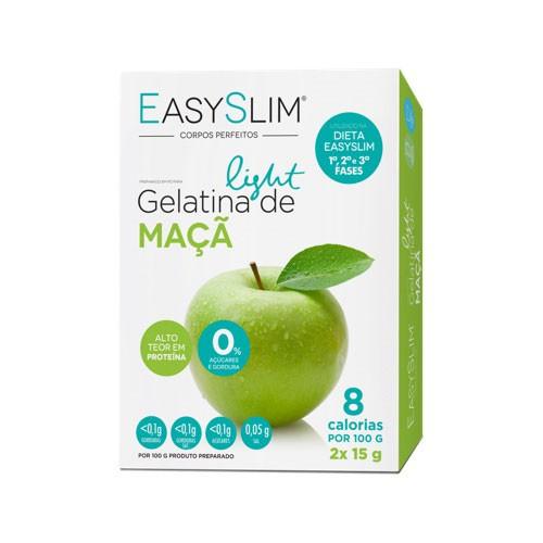 Easyslim Gelatina Light Maçã 2 Saquetas - Pharma Scalabis