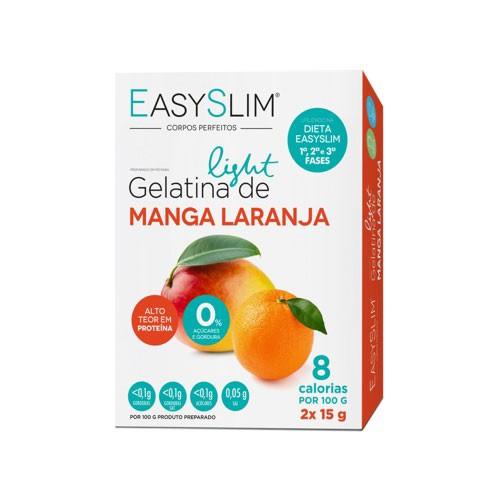 Easyslim Gelatina Light Manga/ Laranja 2 Saquetas - Pharma Scalabis