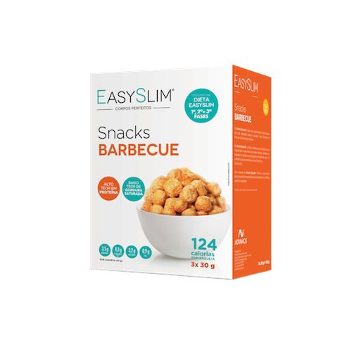 Easyslim Snacks Barbecue 3 Unidades - Pharma Scalabis