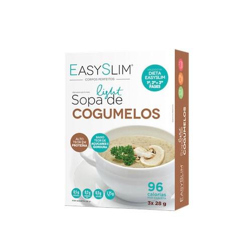 Easyslim Sopa Light de Cogumelos 3x28g - Pharma Scalabis
