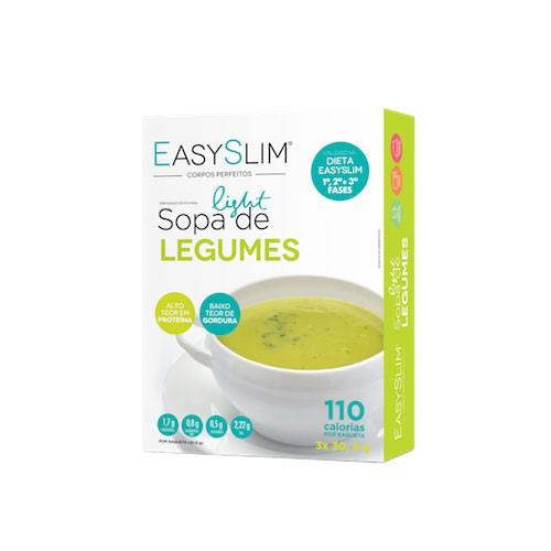 Easyslim Sopa Light de Legumes 3x30gr - Pharma Scalabis