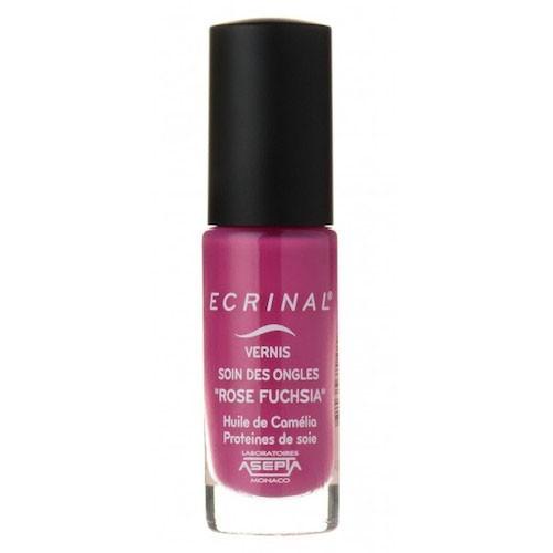 Ecrinal Verniz Rosa Fusica 6ml,os Vernizes de cuidado com Cor ECRINAL® hidratam e nutrem as unhas. Contribuem para reforçar a sua solidez e evitar a sua quebra