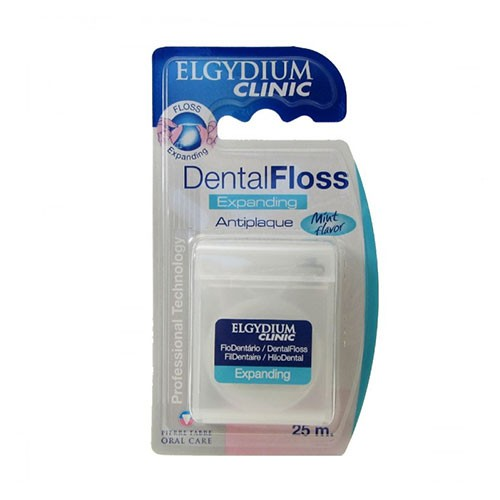 Elgydium Clinic Fio Dental Expanding Anti-placa