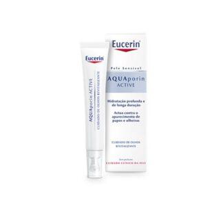 Eucerin Aquaporin Creme Contorno de Olhos 15ml
