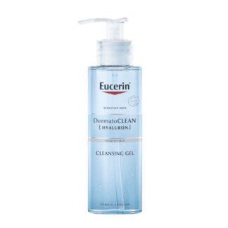 Eucerin DermatoCLEAN Gel de Limpeza Refrescante 200ml, este gel suave e eficaz remove a maquilhagem e permite que a pele respire melhor.