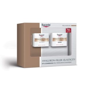 Eucerin Hyaluron-Filler + Elasticity Noite e Creme Dia 2x50ml