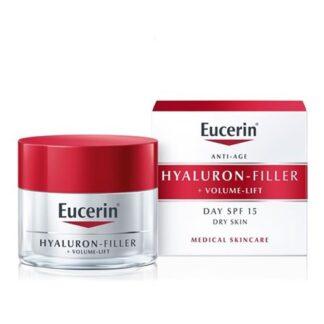Eucerin Hyaluron-Filler + Volume-Lift Creme Dia Pele Seca 50ml - PharmaScalabis