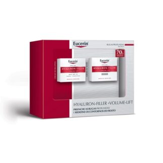 Eucerin Hyaluron-Filler + Volume Lift Noite e Dia 2x50ml