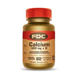 FDC Calcium 600mg + Vit D 30 Comprimidos, o cálcio é um mineral essencial ao funcionamento do organismo, cuja principal função está relacionada com a manutenção da estrutura óssea, onde é armazenado.