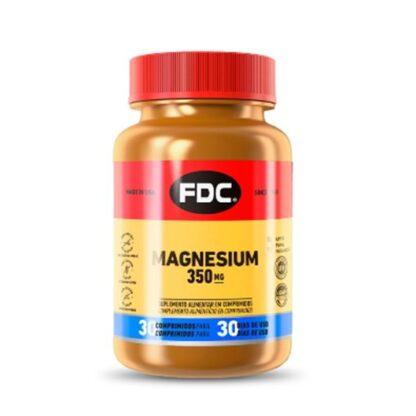 FDC Magnesium 350mg 30 Comprimidos, o magnésio é um mineral essencial ao funcionamento do organismo. Está envolvido em mais de 300 reações bioquímicas, desempenhando um papel na produção de energia, na glicólise e na manutenção de ossos normais