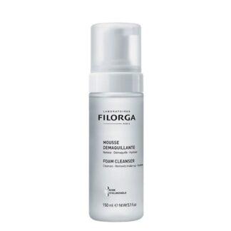 Filorga Mousse Desmaquilhante C/ Enxaguamento 150ml,com a finalidade de limpeza e hidratação. Assim como remoção da maquilhagem.