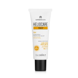 Heliocare 360 Gel SPF50+ 50ml, fotoimunoproteção muito alta numa textura gel, fácil de aplicar e rapidamente absorvida pela pele.