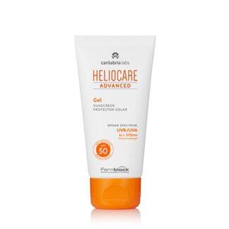 Heliocare Advanced Gel Spf50 50ml, fotoimunoproteção alta contra os raios UVB e UVA, com propriedades antioxidantes
