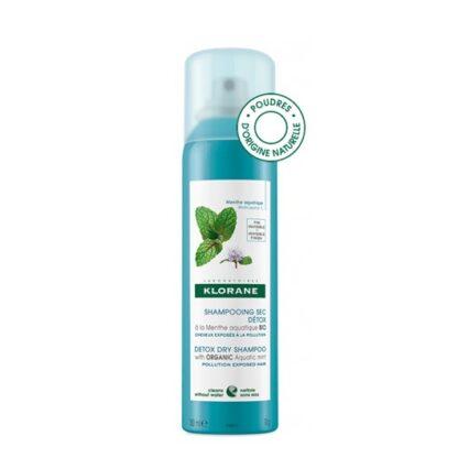 Klorane Champô Seco Detox 150ml, para todo o cabelo