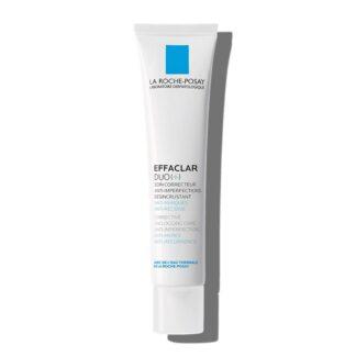 La Roche Posay Effaclar Duo(+) 40 ml,com a finalidade de garantir um tratamento completo com fórmula reforçadas e eficácia anti-imperfeições. Certamente graças à Procerad, um anti marcas de ingrediente ativo exclusivo.