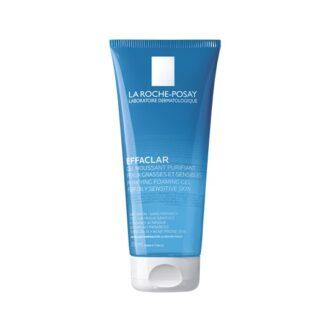 La Roche Posay Effaclar Gel Mousse Purificante 200 ml,com a finalidade de eliminar as impurezas e excesso de sebo. Além disso é especialmente concebido para pele oleosa e sensível.