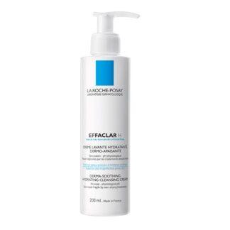 La Roche Posay Effaclar H Creme Lavante 200 ml, com a finalidade delimpar a pele oleosa. Certamente concebido a pensar na sensibilidade das peles a fazer tratamentos medicamentosos e tópicos contra o acne.