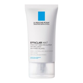 La Roche Posay Effaclar Mat Creme Matificante 40 ml,com a finalidade de reduzir o tamanho dosporose o fluxo de sebo. Além disso prolongaa maticidade