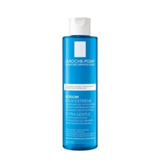 La Roche Posay Kerium Suavidade Extrema Cabelos Normais 200ml, com a finalidade de acalmar imediatamente o couro cabeludo. Cabelo leve, macio e brilhante é certamente a sensação que terá a cada utilização.