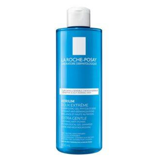 La Roche Posay Kerium Suavidade Extrema Cabelos Normais 400ml,com a finalidade de acalmar imediatamente o couro cabeludo. Cabelo leve, macio e brilhante é certamente a sensação que terá a cada utilização.