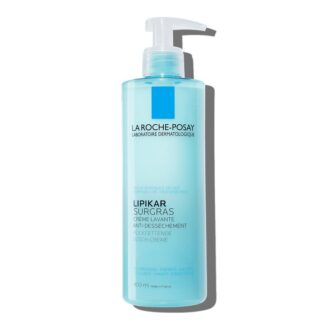 La Roche Posay Lipikar Surgras Creme de Duche 400 ml, com a finalidade de limpar a pele sem a agredir, respeitando a sua película protetora natural.