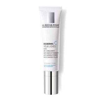 La Roche Posay Redermic C Olhos 15 ml, reduz as rugas e suaviza as irregularidades.