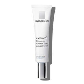 La Roche Posay Redermic C Peles Secas 40 ml,com a finalidade de atenuar as rugas mesmo profundas, ajudar a reafirmar a pele