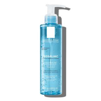 La Roche Posay Rosaliac Micelar Desmaquilhante 200 ml,com a finalidade de limpar e apaziguar o rosto e os olhos.