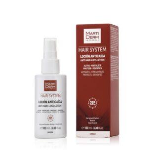 Martiderm Hair System 3gf Loção Capilar Anti-Queda 100ml PharmaScalabis
