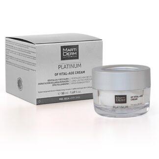 Martiderm Platinum GF Vital-Age Creme Pele Seca 50ml