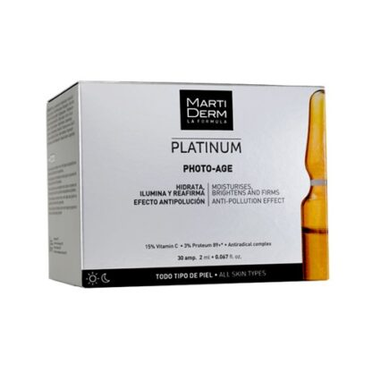 Martiderm Platinum Photo-Age 30 Ampolas - Pharma Scalabis