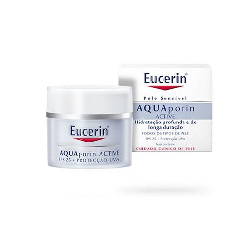 Eucerin Aquaporin Active Creme Dia FPS 25