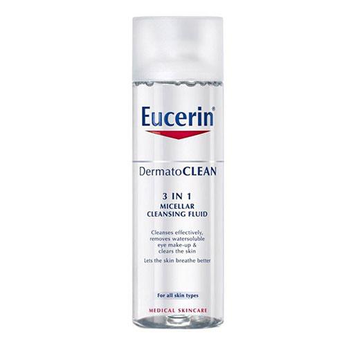 Eucerin Dermatoclean Solução de Limpeza Micelar 3 em 1 200ml - Pharma Scalabis