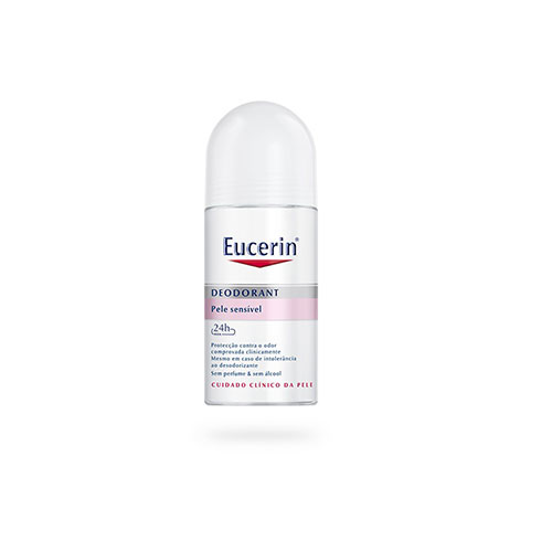 Eucerin Desodorizante Roll-On Pele Sensível 24h 50 ml - Pharma Scalabis