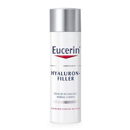 Eucerin Hyaluron Filler Creme Dia Peles Normais Mista 50 ml - Pharma Scalabis