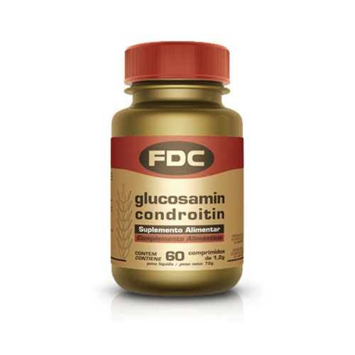 FDC Glucosamina+Condroitina 60 Cápsulas