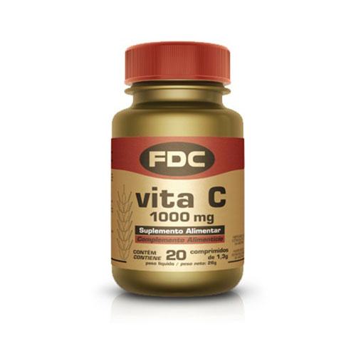 FDC Vitamina C 1000mg 20 Comprimidos
