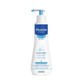 Mustela Hydra Bebé Leite Hidratante Corpo 300ml,para bebés e crianças, desde o nascimento.Proporciona um efeito hidratante imediato e prolongado.
