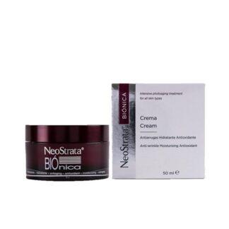 Neostrata Biónica Creme 50ml, cuidado diário hidratante do fotoenvelhecimento de todos os tipos de pele. Aconselhado como creme pós-peeling, e associado a tratamentos dermocosméticos anti-envelhecimento.