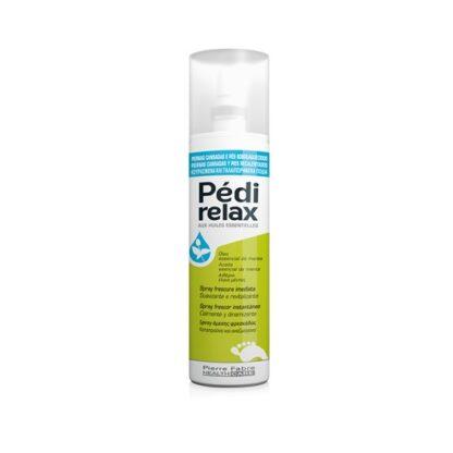 Pedi Relax Spray Frescura Imediata 100ml, com aroma fresco, de efeito descongestionante para alívio imediato. Refrescante e relaxante para pernas e pés cansados.